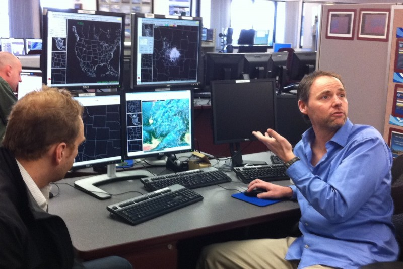 AWIPS II testing at the Boulder WFO