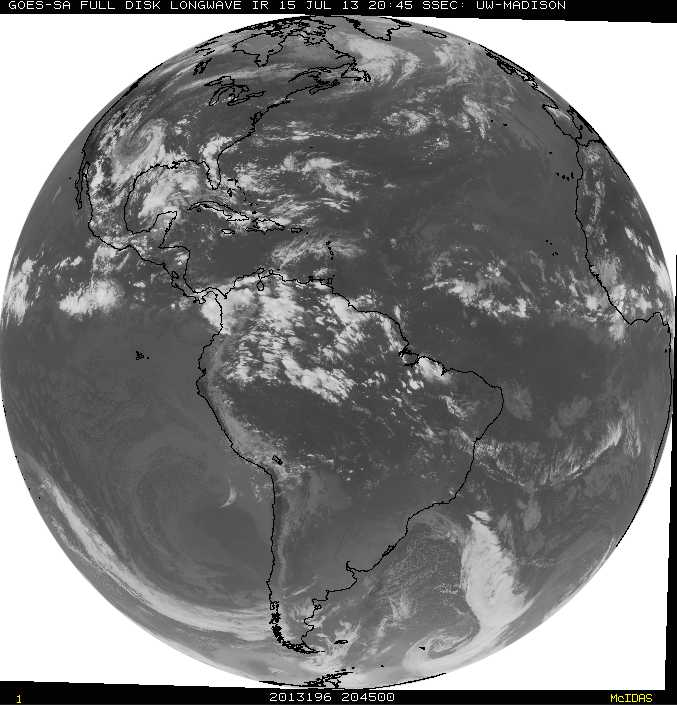 GOES-South image