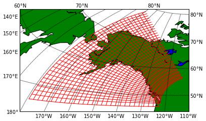 Sparse grid lines near Alaska