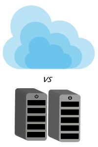 Cloud computing vs local computing